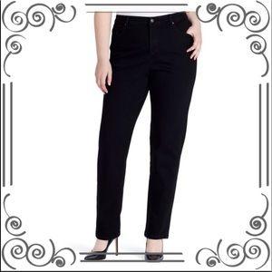 Plus Size GLORIA VANDERBILT High-Waisted Jeans